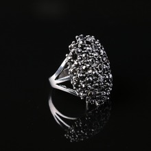 New Personalized Anneau anel feminino Stainless Steel Big Mushroom  Women Punk Rings for Evening Party  Statement Rings(China (Mainland))