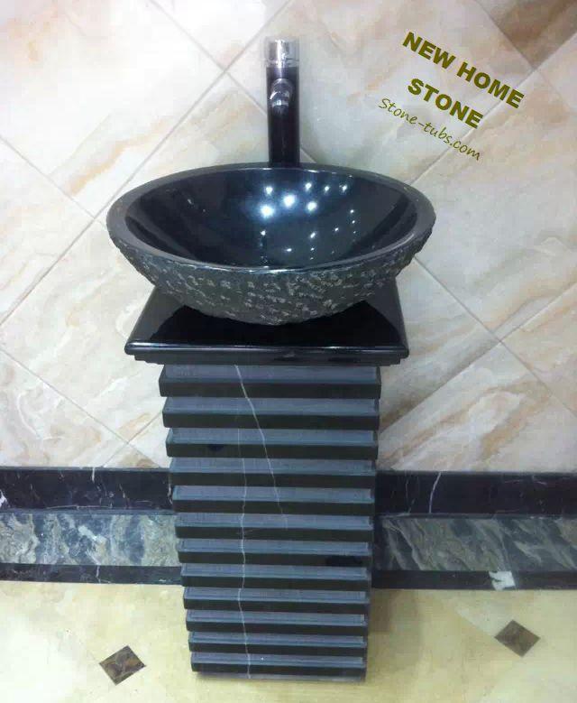 Badkamer wastafel zwart home design idee n en meubilair inspiraties - Ontwerp badkamer model ...