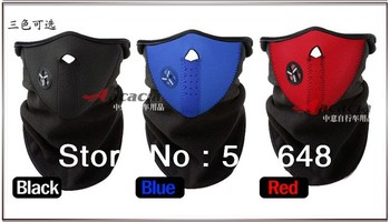Skiing,Hiking,Bike,Motorcycle,Outdoor and Extreme Sports Face Mask,Neck Warm 3 color free shipping