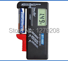 Envío gratis 9 V 1.5 V BT860D digital probador de la batería