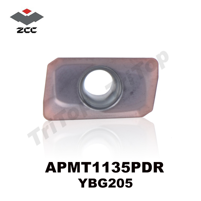 Best milling insert for Stainless steel APMT1135PDR YBG205 apmt1135 tungsten Carbide Cutting tools Milling tools apmt 1135 pdr(China (Mainland))