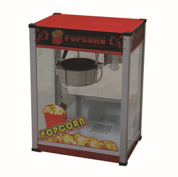 10oz stainless steel 110v/ electric commercial popcorn machine with temperature control(China (Mainland))
