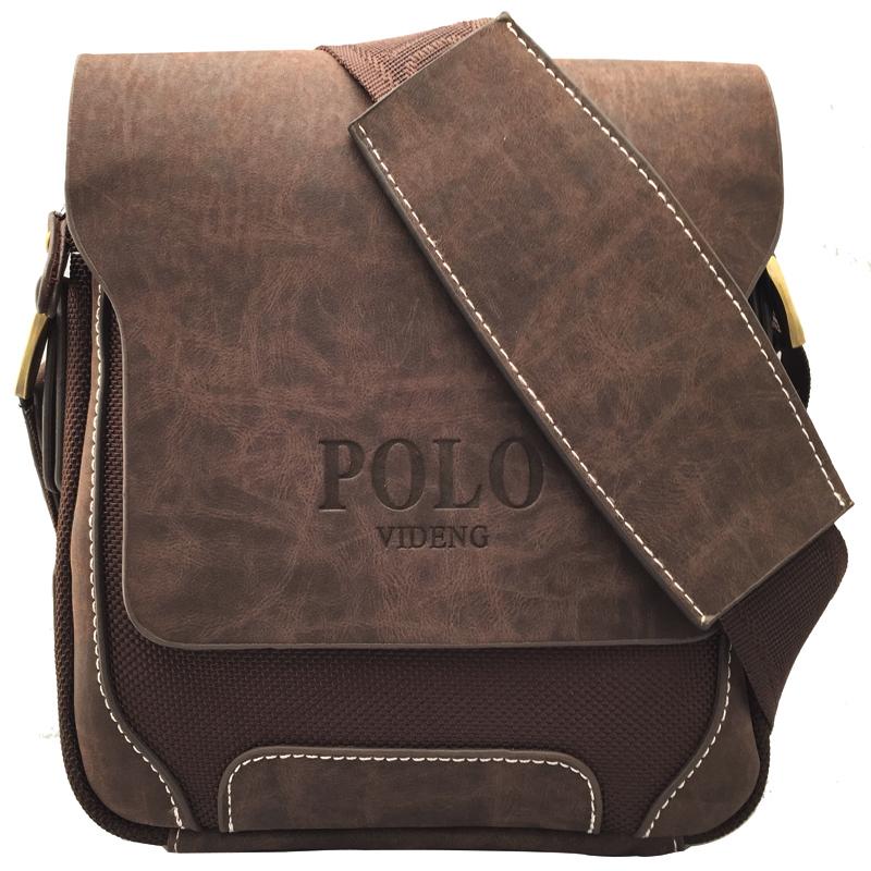 2015 New Fashion Famous Brand Men's Messenger Bags Genuine Leather Oxford Vintage Mens Handbag Desigual Man Travel Bag VP-7(China (Mainland))
