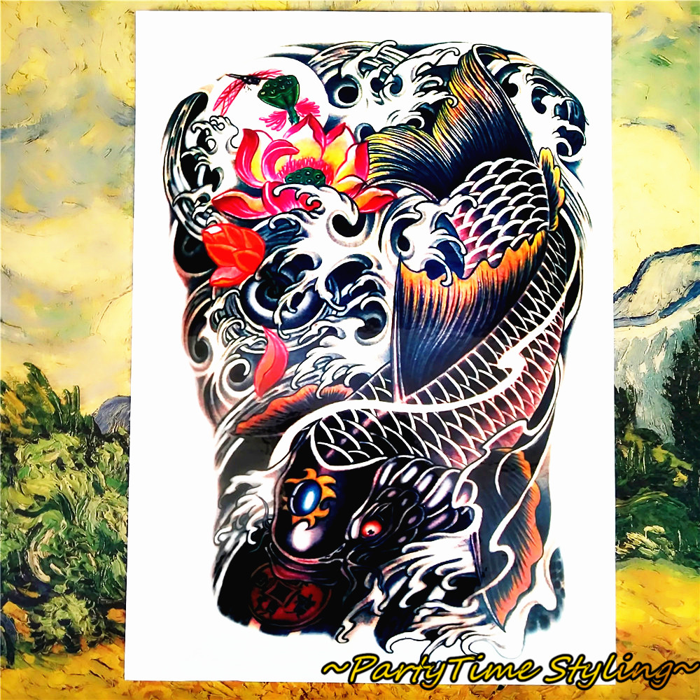 Achetez en gros koi carpe tattoo designs en ligne des for Achat carpe koi en ligne
