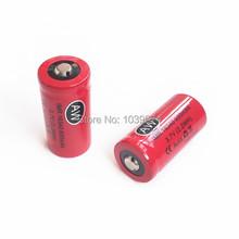 Высокая утечка 16340 электронная сигарета аккумулятор IMR литий-ионный 600 мАч 3.7 В 2.2WH литий-ионный элемент