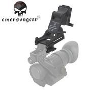 Emerson Tactical Combat Night Vision Goggle Shockproof Helmet Rhino Arm Mount Helmet Protection Accessories PVS-14/PVS-7 Black(China (Mainland))