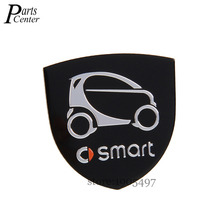 Buy 35x34mm Aluminium Alloy Car Styling Accessories Emblem Side Stickers Auto Badge Smart Logo fortwo Sharpred forfour Pearlgrey for $4.98 in AliExpress store