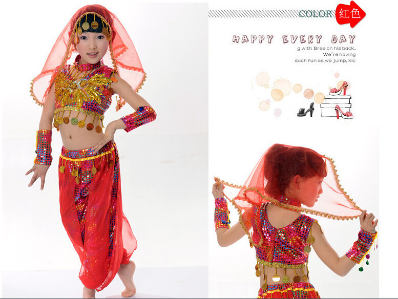 Belly Dancer Halloween Costume For Kids Girls Kids Belly Dance Costume