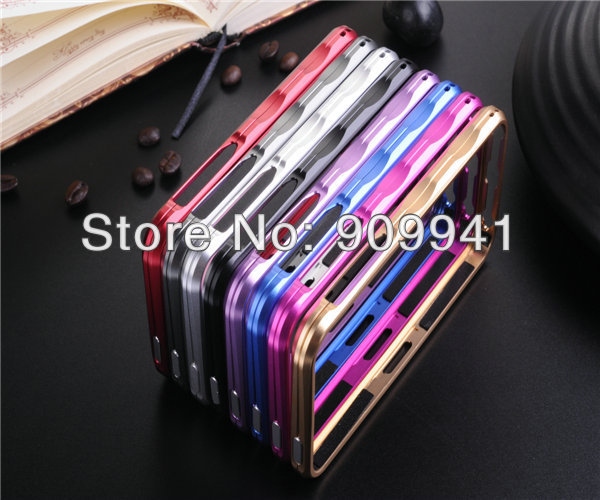 30pcs X Free Shipping Big Promotion Brand Mobile phone case for iphone5g 5s iMatch Metal bumper case