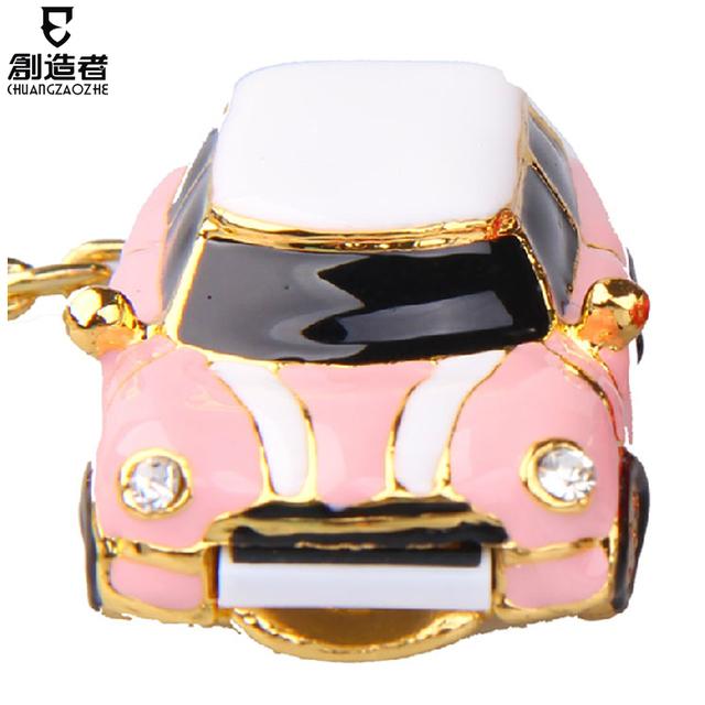 Usb flash drive fashion crystal 16g car usb flash drive rhinestone personalized usb flash drive
