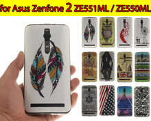 Coque Silicon Cases sFor Asus Zenfone 2 ( 5.5 Inch ) Mobile Phone TPU Protection Back Cover ZE550ML / ZE551ML - LZ International Trading Co., Ltd store