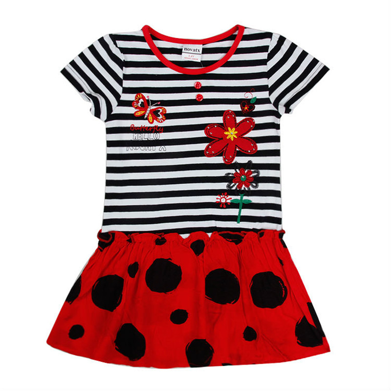 Baby girl dress nova flower girls party Princess Dresses kids clothes children clothing toddler summer H5936 - Nova Brand Store store