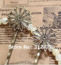 100pcs/lot Flower hairpin/bobby pin