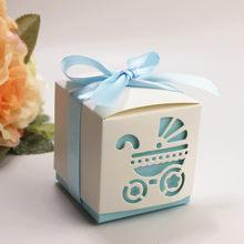 1 pcs-12 pcs Safari Caixa de Presente da Festa de Aniversário Decoração Do Partido Do Chuveiro Do Bebê sacos de presente de Aniversário de aniversário Da Menina do Menino caixa de doces Caixa de Presente(China)