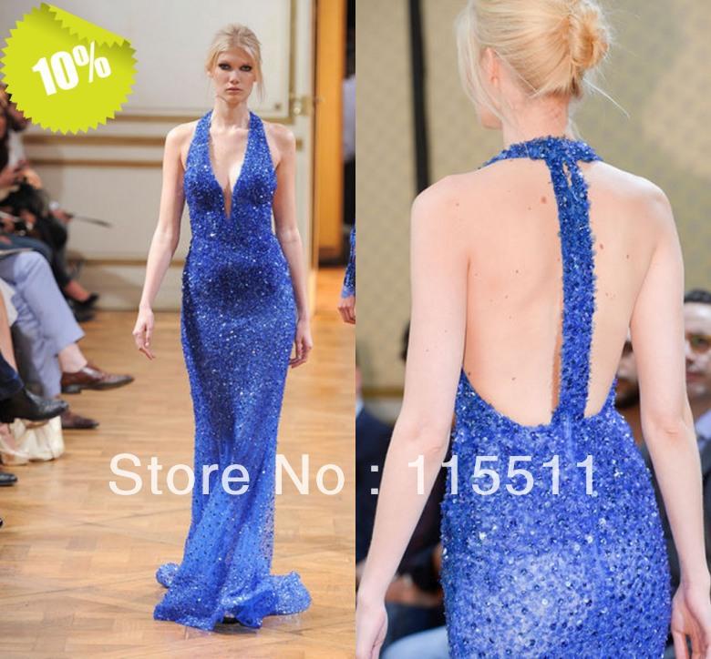 Вечернее платье Evening dresses dazzlingsequin вечернее платье backless evening dresses sequin elie saab z2013122702