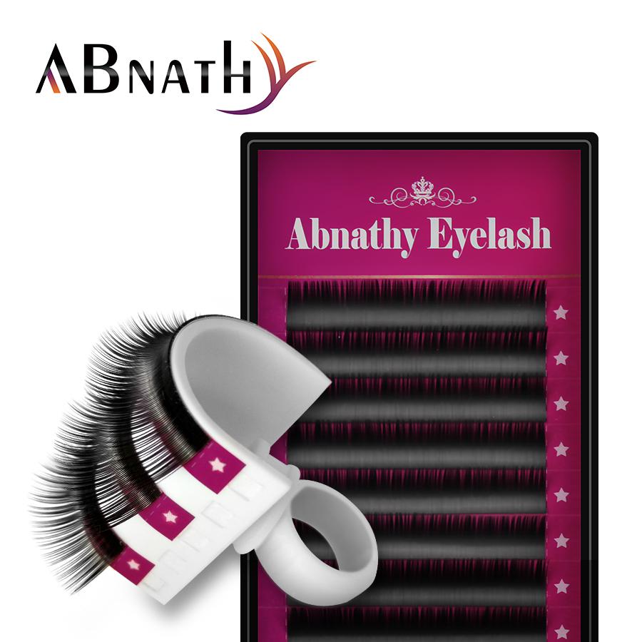 Abnathy Lashes All Size False Mink Eyelash Extensions Black Thick Soft Fake False Lashes Makeup Individual Lashes Extension(China (Mainland))