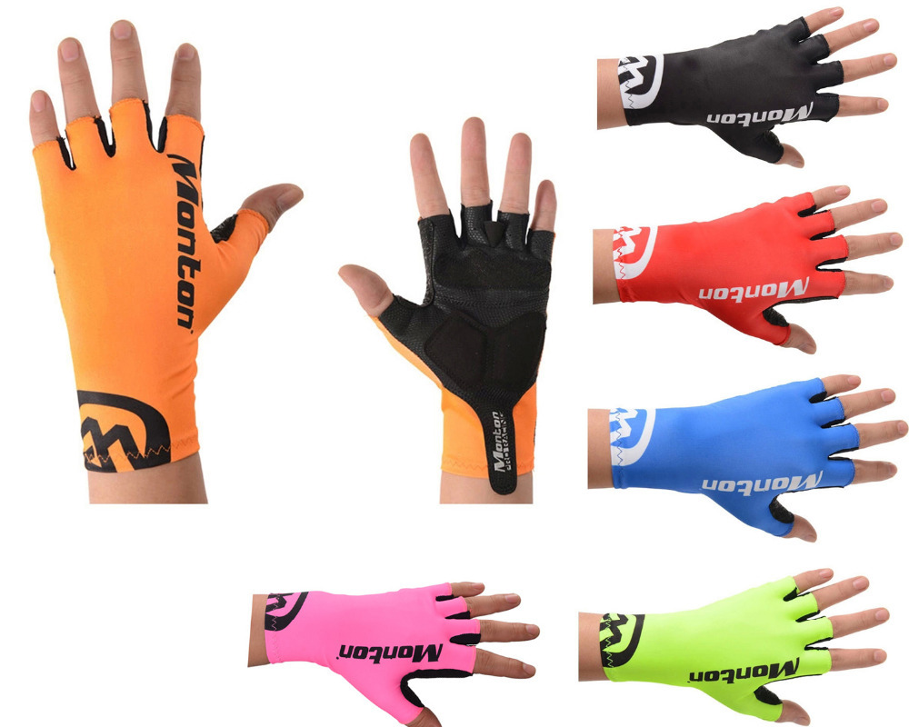 Men's Cycling Glove Half Finger Bike Gloves Mittens Free Shipping(China (Mainland))