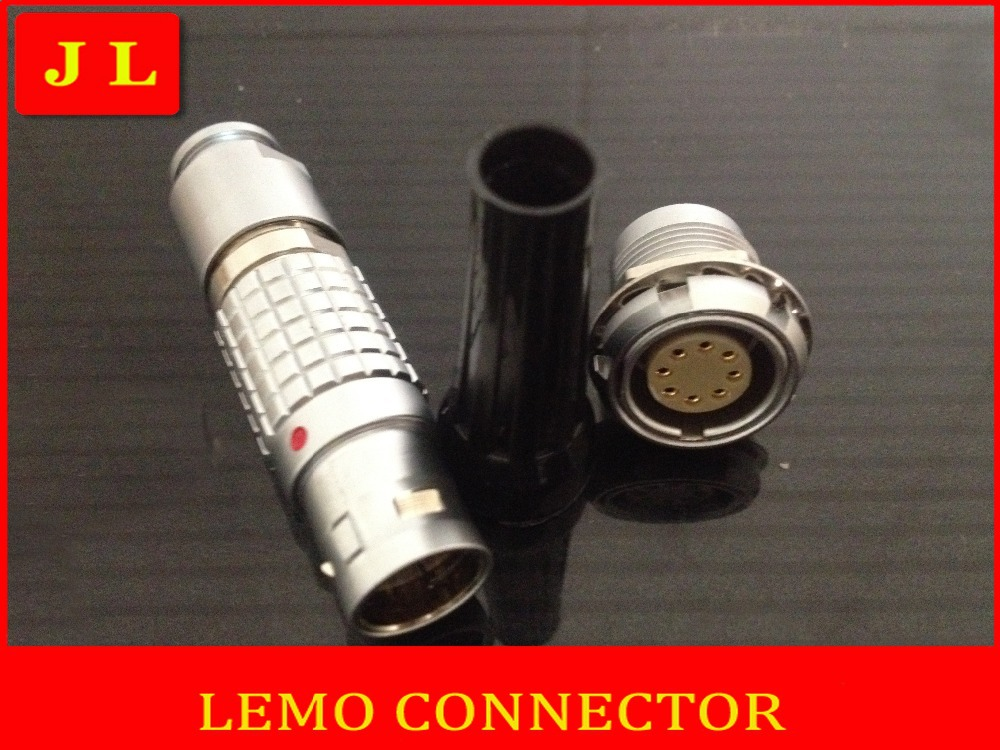 LEMO FGG.2B.308.CLAD,EGG(&ECG).2B.308.CLL , LEMO 2B8 pin connector, buy ten seven days arrived, quantity more discount(China (Mainland))