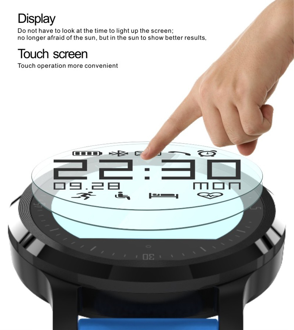 F68 Smart Watch Sports Watch Fitness Heart rate Tracker Healthy smartwatch Wearable Devices for android Apple IOS8 Smartphone
