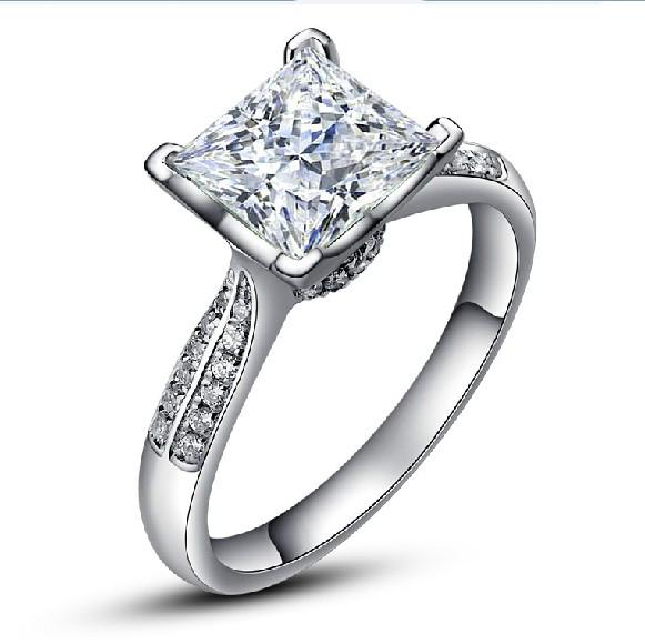 Square Wedding Ring RingsCladdagh