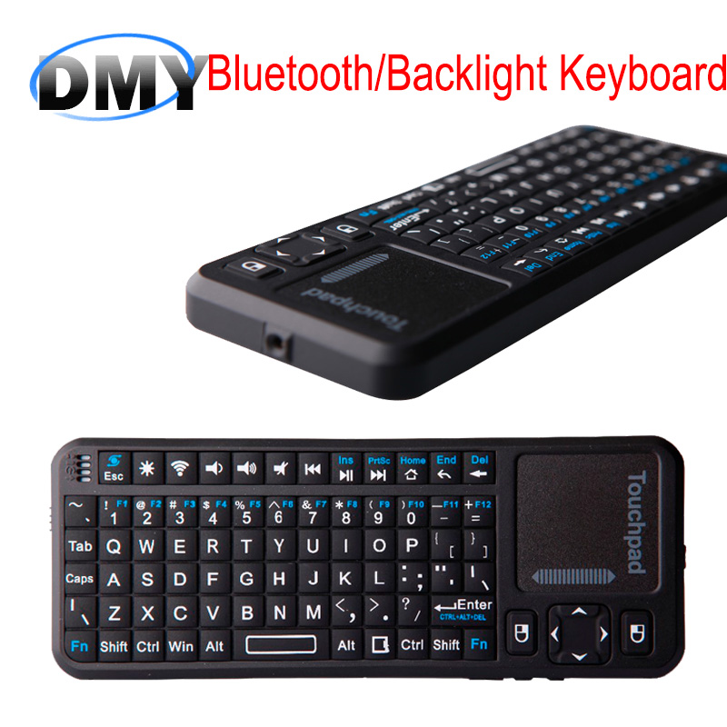 5pc iPazzport portable Bluetooth Handheld wireless mini KP-810-10BTTL Gaming keyboard air mouse touchpad for tablet smart tv box(China (Mainland))
