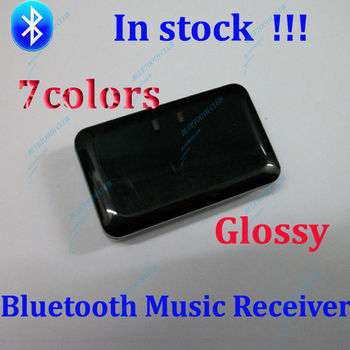 Glossy  !!! 7Colors High Quality Wireless Bluetooth Music Receiver A2DP Audio Adaptor for Home Stere Speaker HiFi