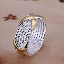 R013  silver plated rings for women wedding Bridal Jewelry  , X Ring  wedding rings anelli donna(China (Mainland))