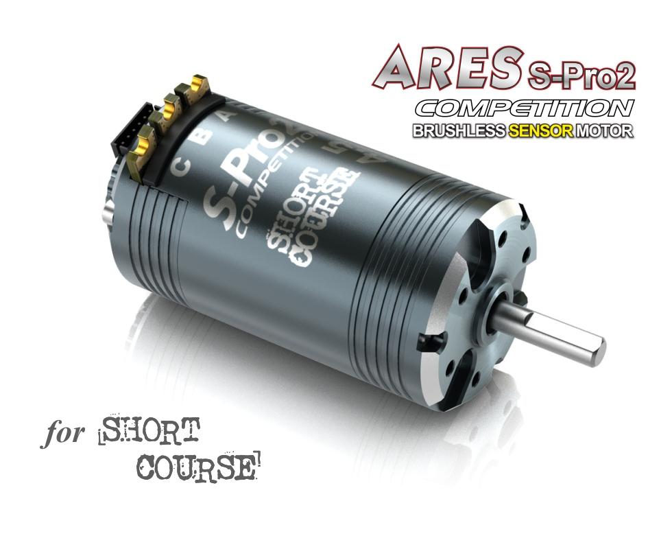 SkyRC ARES S-Pro 2 Dual Sensor Port Brushless Motor for 1/10 Competition RC Car for 4.5T-7.5T,KV4800,KV4300,KV3400,KV3000(China (Mainland))