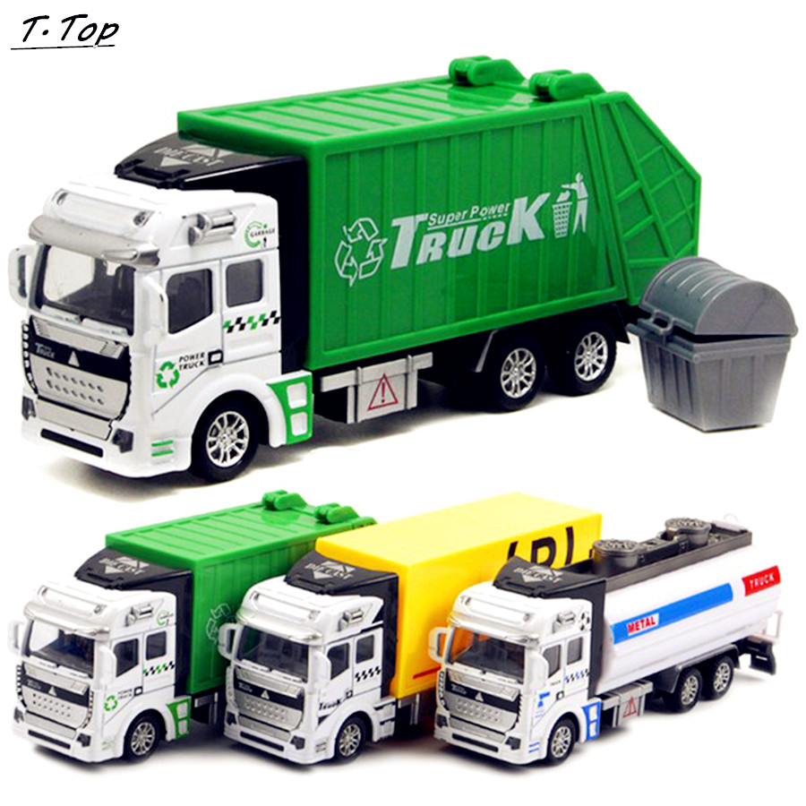 1:48 Carrying Engineering Truck Dumpers Sliding Vehicles Car Models Boys Gifts For Children Kids Toy(China (Mainland))
