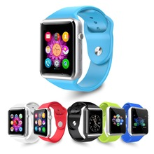 5 Colors Men Women Fashion WristWatch Bluetooth Smart Watch Sport Pedometer With SIM Camera Smartwatch For Android Smartphone