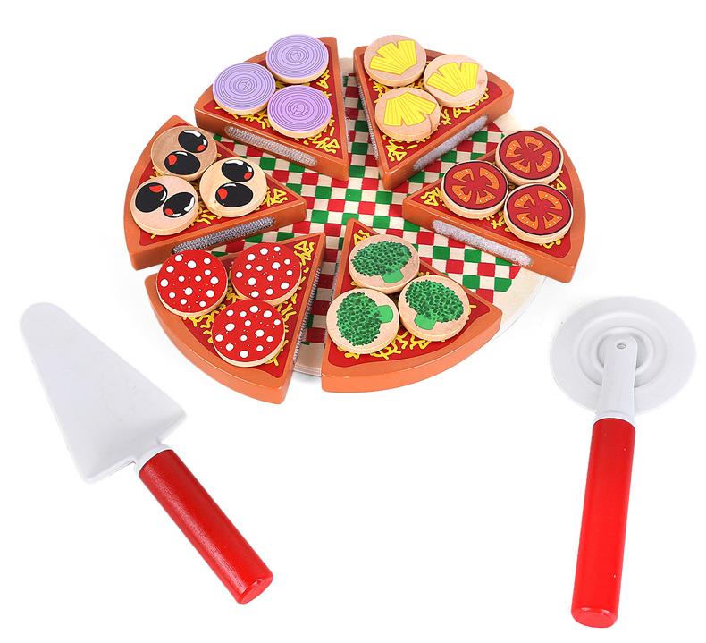 Achetez en gros en bois pizza jouet en ligne des for Cuisine simulation en ligne