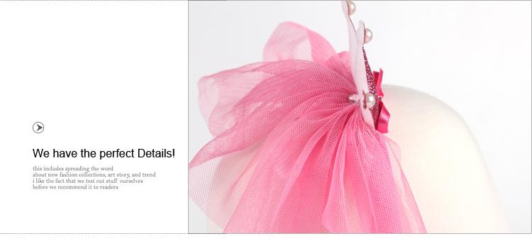 1 PC Hot Sale Solid Ribbon Pearl Princess Children Baby Hair Band  Elastic Hair Bands Tiaras Girls Hair Accessories  A02482
