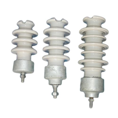 Ps15 300 Pillar Porcelain Post Insulators High Voltage Power Line Suspension Porcelain