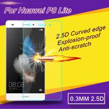Hd ясно закаленное стекло защитная пленка для Huawei P8 Lite чехол протектор экрана