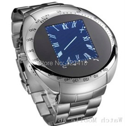 Здесь можно купить  New Century-W6- phone shape watch style -without a digital key - Housing Material Metal - Network standard GSM 900/1800 850/1900  Часы