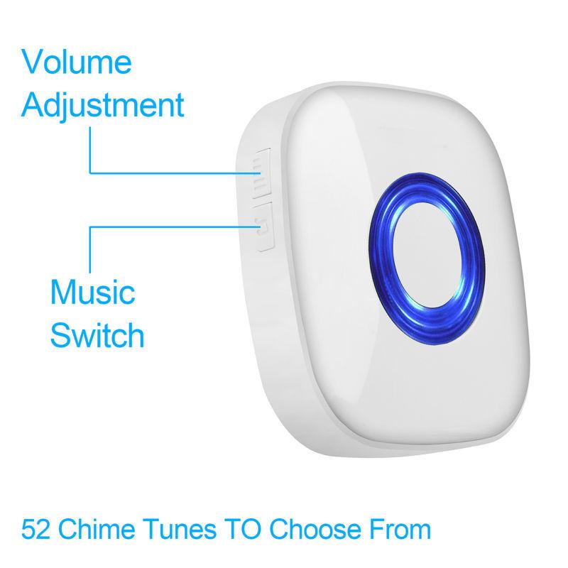 wireless doorbell distance 2