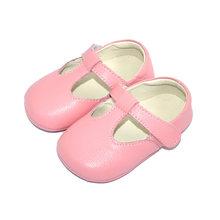 ילדים בנות ראשון הליכונים אמיתי עור רך תינוק פעוט נעלי עריסה חמודה נעלי תינוקות תינוק נעלי Zapatos(China)
