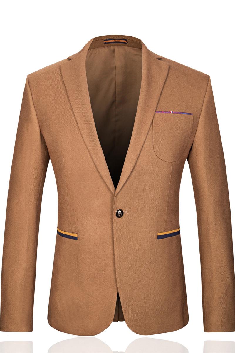 online kaufen gro handel khaki farbige anzug aus china. Black Bedroom Furniture Sets. Home Design Ideas