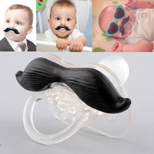 New Arrival Hot Funny Black Infant Baby Kid Child Pacifier Orthodontic Nipples Dummy Mustache Beard