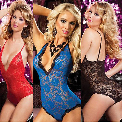 XXL 3XL 4XL Sexy Babydoll Lingerie Dress Chemise Outfit Plus Size 12 14 16 18 20(China (Mainland))