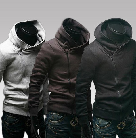 Side Zipper Hoodie Photo Album - Reikian