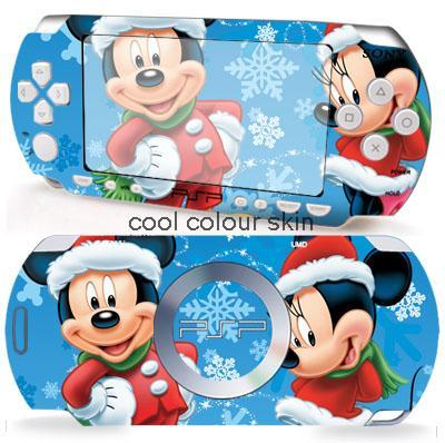 MICKEY and MINNIE 036 Vinyl Skin Sticker Protector for Sony PSP 2000 skins Stickers for PSP2000(China (Mainland))
