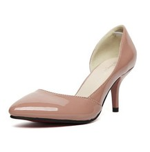 New Arrival Classic Pumps Women Candy Color Woman Point toe High-heel Office Lady Single Shoes EU Size 35-39 Free Delivery