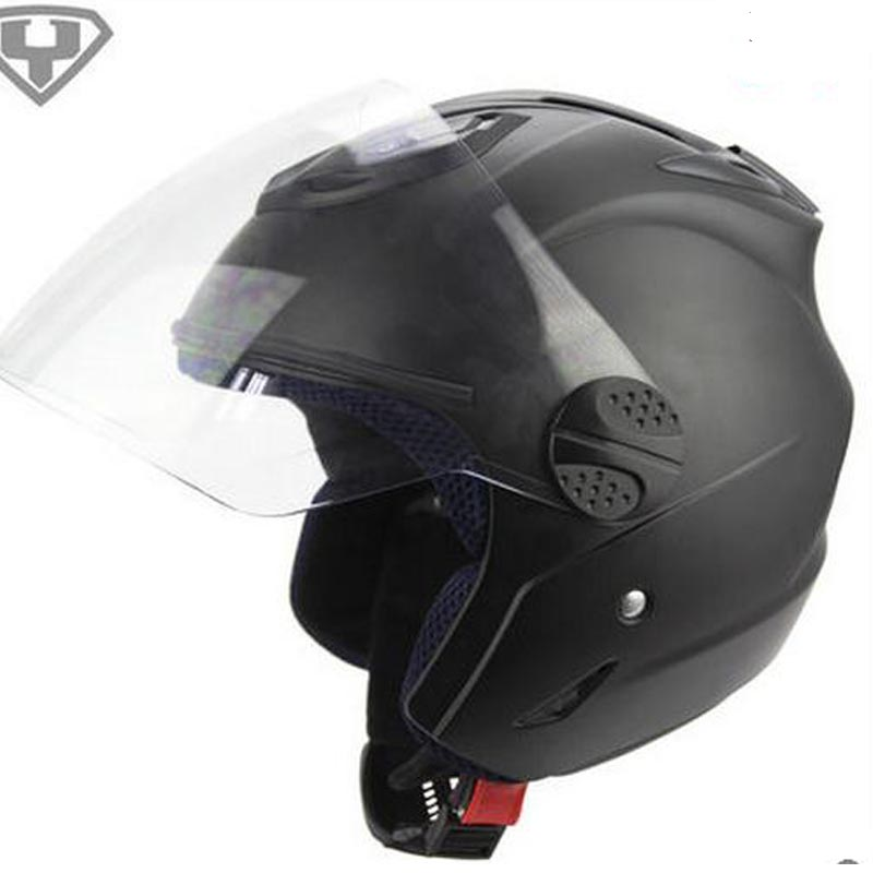 New fashion YOHE summer casco motorcycle helmet electric Scooter safety men women half face helmet top quality vespa capacete(China (Mainland))