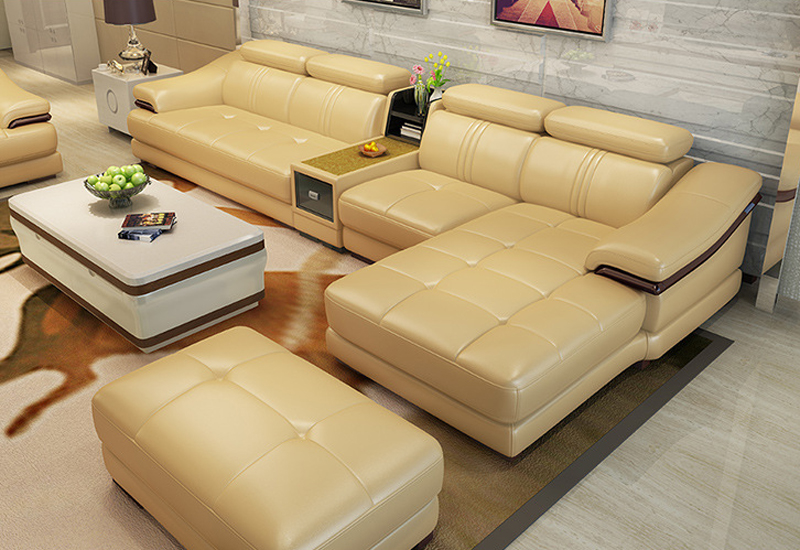 Sofas for living room leather sofas modern sofa set living for New style drawing room