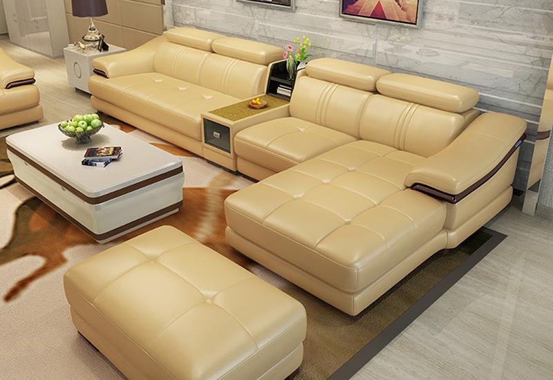 Compra de cuero muebles de la sala online al por mayor de for Compra de muebles por internet