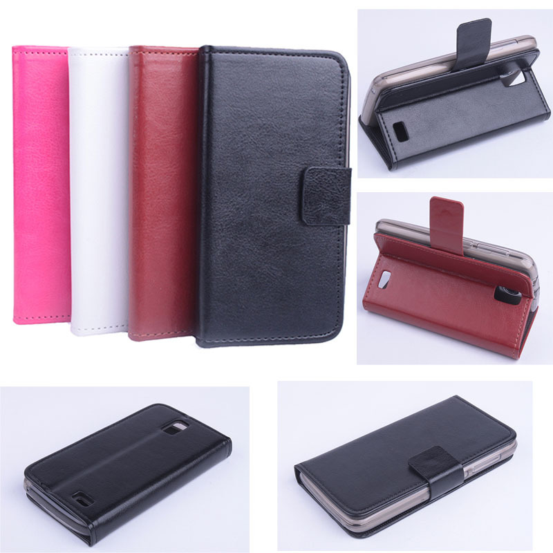 Flip Leather Magnetic Protective Case Cover For Lenovo A328 A328T Smartphone Free Shipping&Wholesales(China (Mainland))