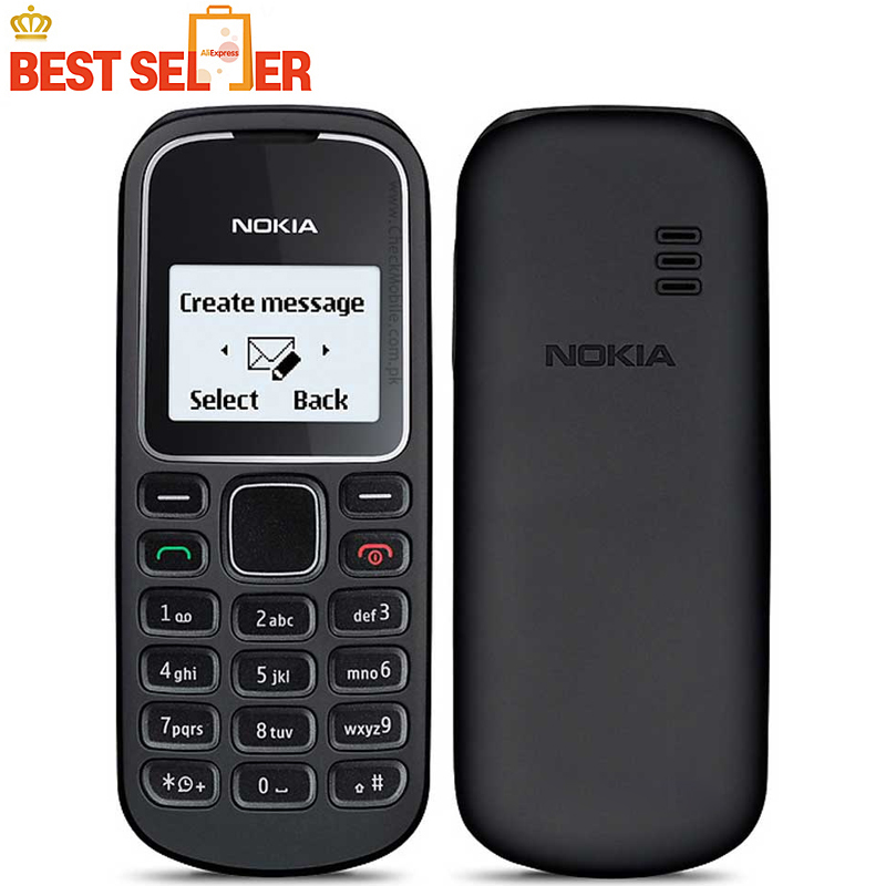 original phone nokia 1280 Cheapest gsm cell phone free shipping(China (Mainland))