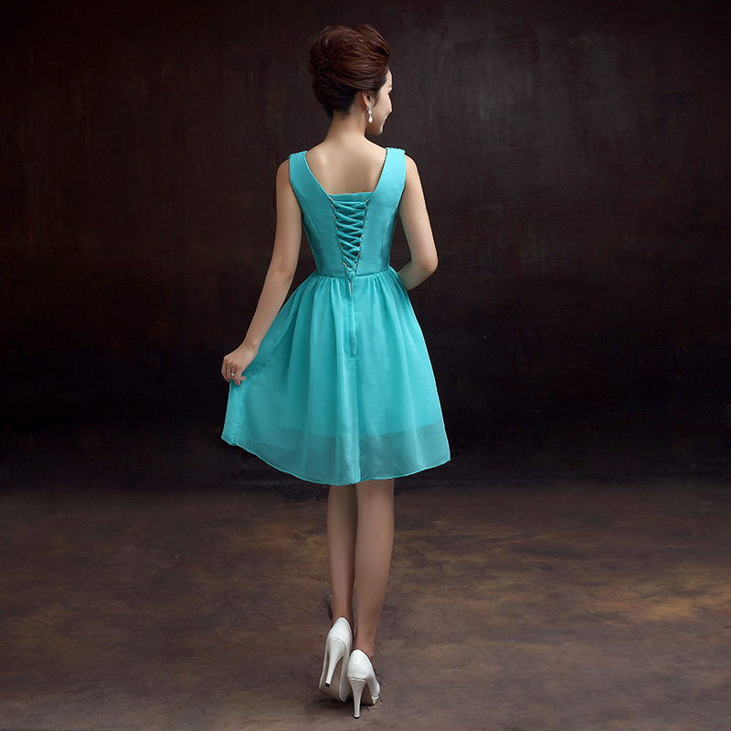Aliexpress.com : Buy 6 Design Chiffon Dresses Turquoise