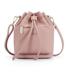 WEICHEN сумка через плечо женская сумка через плечо на шнурке Женская сумка через плечо женская сумка из синтетической кожи модная сумка(China)